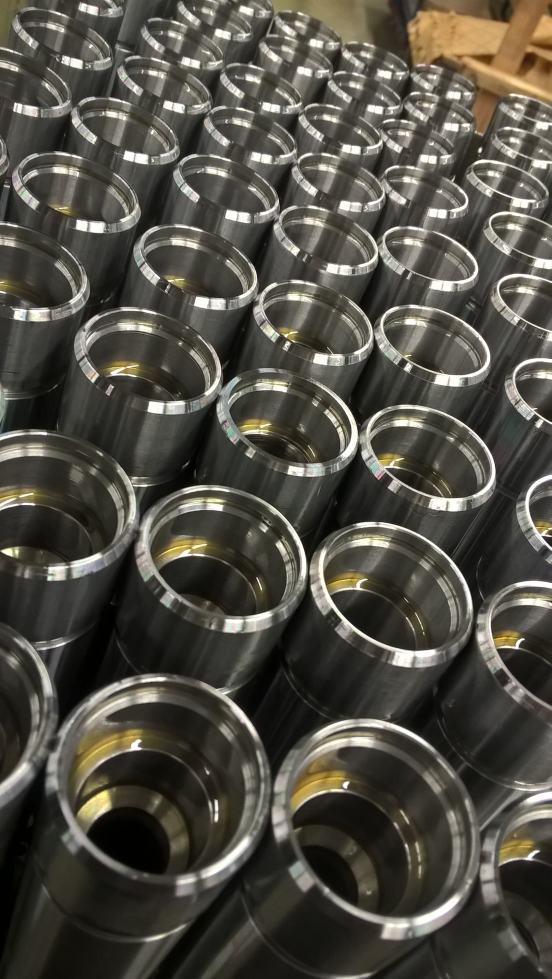 Tieflochbohren Stahl